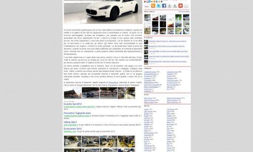 Pagina Autoblog Maserati